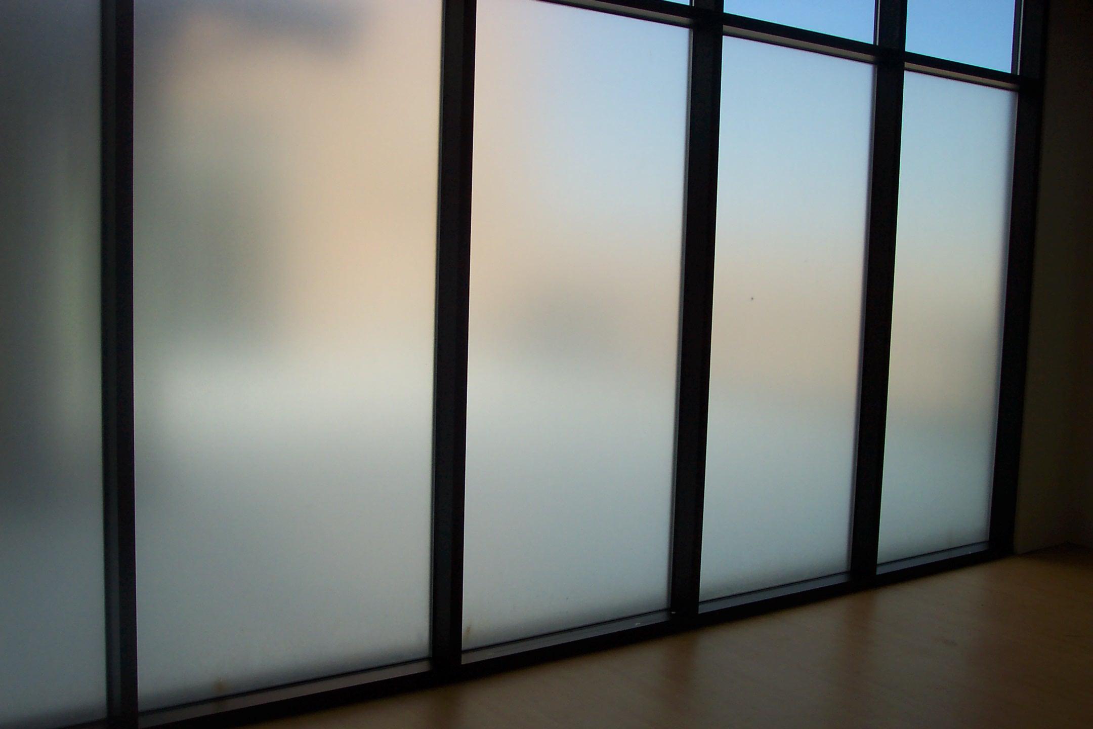 Milchglasfolie Sichtschutzfolie Fensterfolie satinierte Dekorfolie